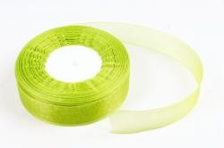 Лента тканная органза 25мм*50Y Травяной  F014-48/1098-25