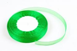 Лента тканная органза 12мм*50Y Зеленый  F014-42/1019