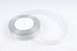 Лента тканная серебрянная 19мм*25 ярдов  RS19/25  МН