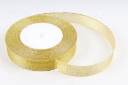 Лента тканная золотая 19мм*25 ярдов  RG19/25  МН