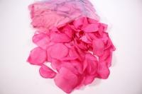 лепестки роз ( фуксия ) в пакете