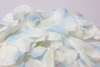 лепестки роз лепестки роз (микс цветов белый, голубой) в пакете 7909