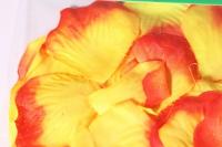 лепестки роз (микс красно/желтые) в пакете 100шт 1875