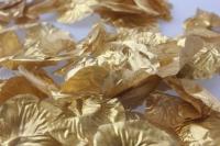 лепестки роз лепестки роз  (золото) в пакете 7941