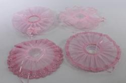 Манжетка свадебная розовая в ассортименте