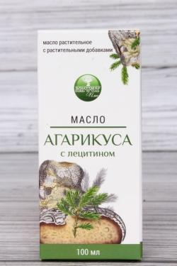 """Масло Агарикуса с лецитином """"Алфит Плюс"""" растительное с растительными добавками 100 мл"""