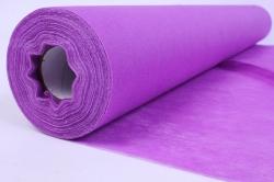 Материал упаковочный Фетр Китай, 50 см x 20 м 1051 (фиолетовый)