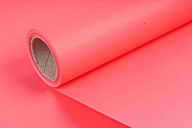 Матовая бумага, 50 см x 10 м, (цв. красный, MN2-26) (М) 0874