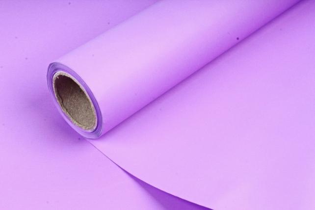 Матовая бумага, 50 см x 10 м, (цв. лиловый, MN2-27) (М) 1888
