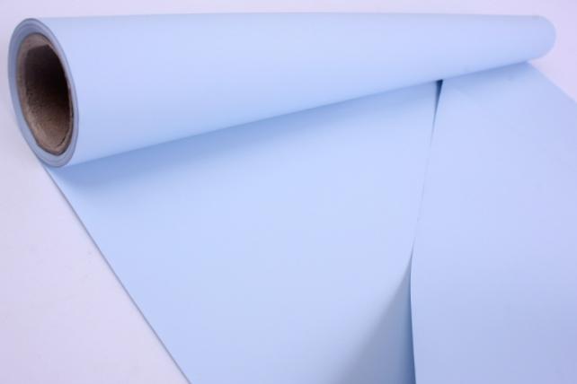 Матовая Бумага 50 см x 10 м (голубой, MN2-8)