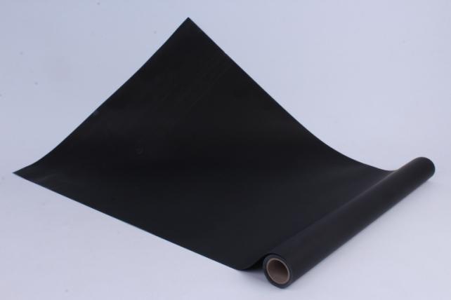 Матовая бумага (Н) 50см*10м 50мкр.черный