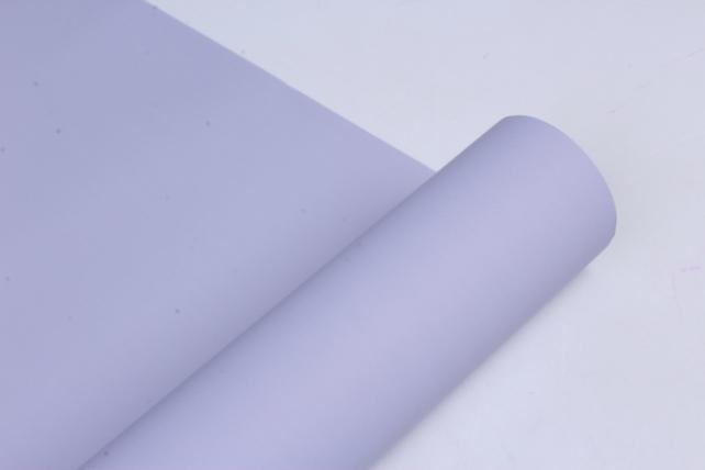 матовая бумага (н) 50см*10м 50мкр.лаванда