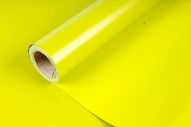 Матовая бумага (Н) 50см*10м 50мкр., цв.Свежая трава 2351