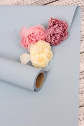 Матовая бумага (Н) 50см*10м 50мкр.голубой MN2-6  5829 Н