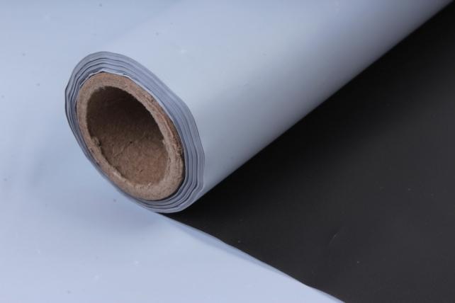 Матовая пленка (Н)  50*10м белый+черный