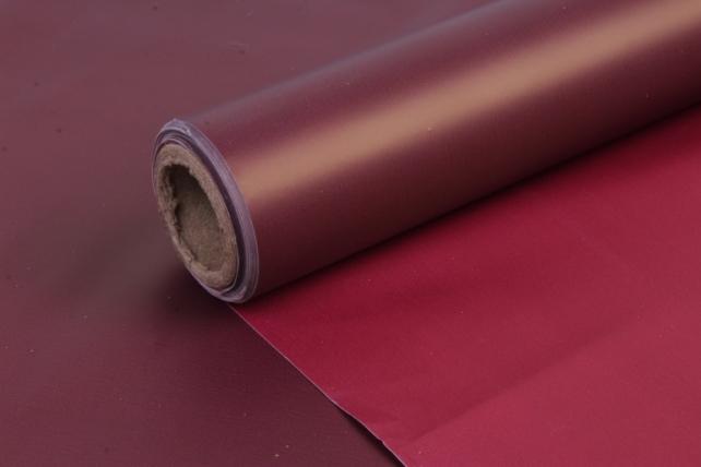 Матовая пленка (Н) 50*10м бордо+красный