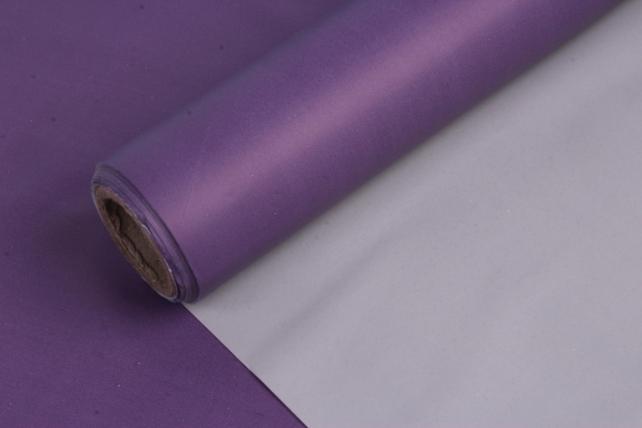 Матовая пленка (Н)  50*10м фиолетовый+пудра