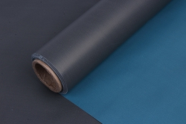 Матовая пленка (Н) 50*10м серый+голубой