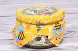 Мёд для детей Мишутка со смородиной 230 гр