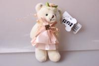Медведь для букета, цвета в ассортименте 423/3 1шт.