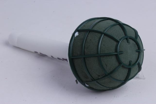 """микрофон """"aspac"""" с загнутой ручкой  d=8см h=20cm"""