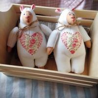 Милые овечки (игрушки ручной работы)