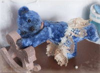 Мишка балерина Мадлен (игрушка ручной работы)