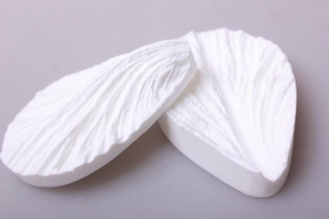 молд двойной 8,5х5,5см - лепесток гладиолуса двойной 0422