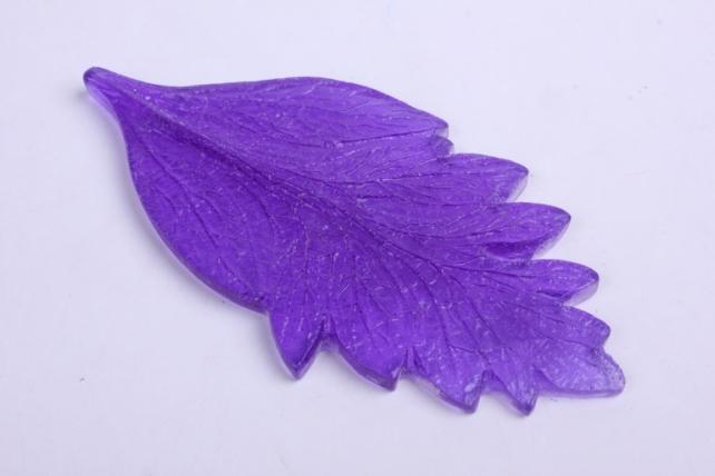 Молд- Лист Хризантема,   L,   арт.3033 12x5,5cm