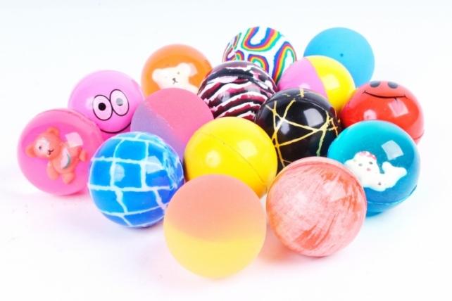 Мяч прыгун 45мм цвета в ассортименте (1шт)