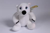 Мягкая игрушка - Медведь белый 15 см - Код 15728С