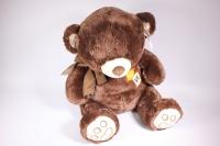 Мягкая игрушка - Медведь с бантом коричневый 50см (Код 1525/50)