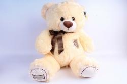 Мягкая игрушка Медведь с бантом шампань   АГ-1779/50
