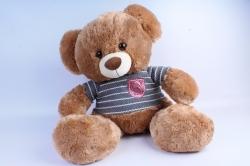 Мягкая игрушка Медведь в кофте бежевый   АГ-1811/50