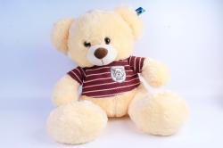Мягкая игрушка Медведь в кофте шампань   АГ-1811/50