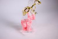 мыло олень (розовый) ручная работа