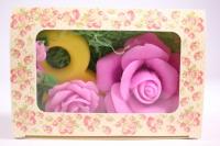 Мыло ручной работы Набор роза с 8-кой
