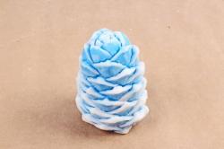 Мыло  шишка голубая
