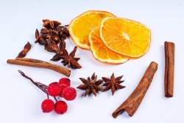 Набор ассорти (корица, бадьян, апельсин, ягода)  К