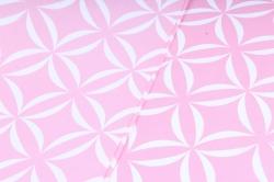 Набор бумаги плотной, 10 листов 50*70см Лепестки розовый