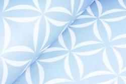 Набор бумаги плотной, 10 листов 50*70см Лепестки серый
