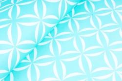 Набор бумаги плотной, 10 листов 50*70см Лепестки тифани