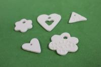 набор из 5 декоративных подвесок для украшения подарков из полимерной пасты для моделирования