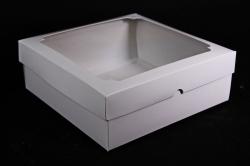 Набор (из 5шт) Коробка-трансформер Белая 19,5*19,5*7см  Е6.0