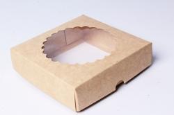 Набор (из 5шт) Коробка-трансформер Крафт 11,5*11,5*3  Е1.1