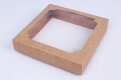 Набор (из 5шт) Коробка-трансформер Крафт 14,5*14,5*3см  Е2.1