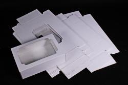Набор (из 5шт) Коробка-трансформер (МГК) Белая   Н1.0