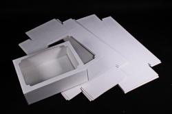 Набор (из 5шт) Коробка-трансформер (МГК) Белая   Н3.0