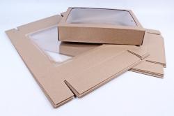 Набор (из 5шт) Коробка-трансформер (МГК) Крафт  Н6.1