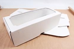 Набор (из 5шт) Коробка-трансформер с окном МГК белый,  F2.0